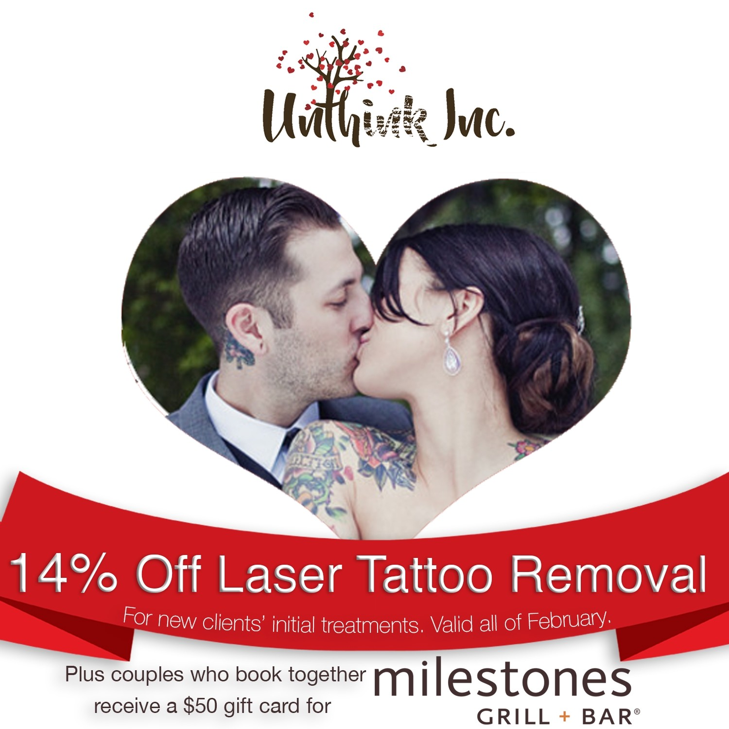 Unthink inc laser tattoo removal promotion ajax