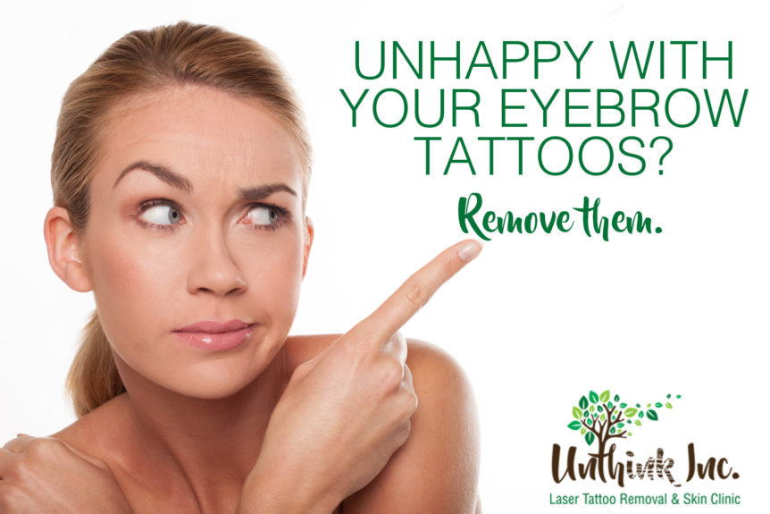 Microblading and Eyebrow Laser Tattoo Removal | Unthink Inc